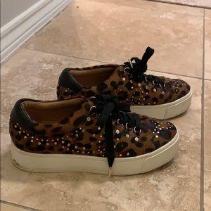 Joie animal print sneakers